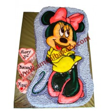 mini mouse / mickey mouse cake  (4 kg)